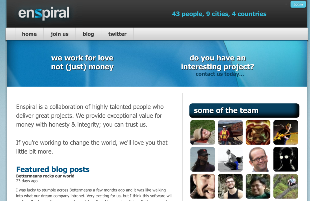 2011-enspiral-website